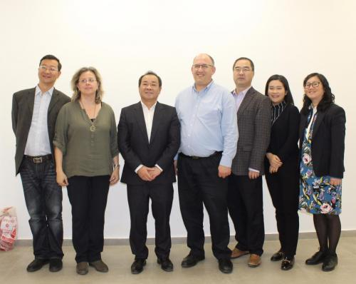 Delegation from the Science and Technology Department of Sichuan Province